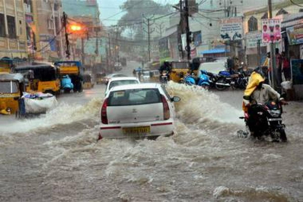 Hyderabad's century-old drainage system caused the recent