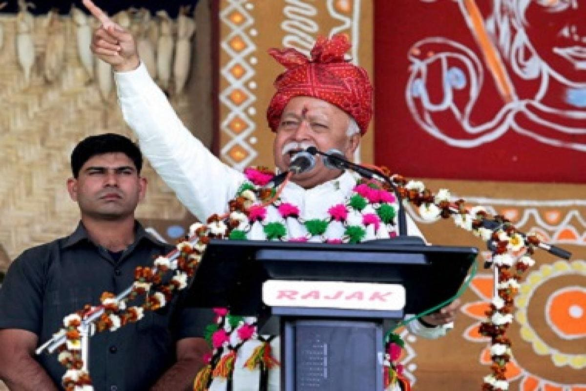 Mohan Bhagwat is confusing religion with nationality by