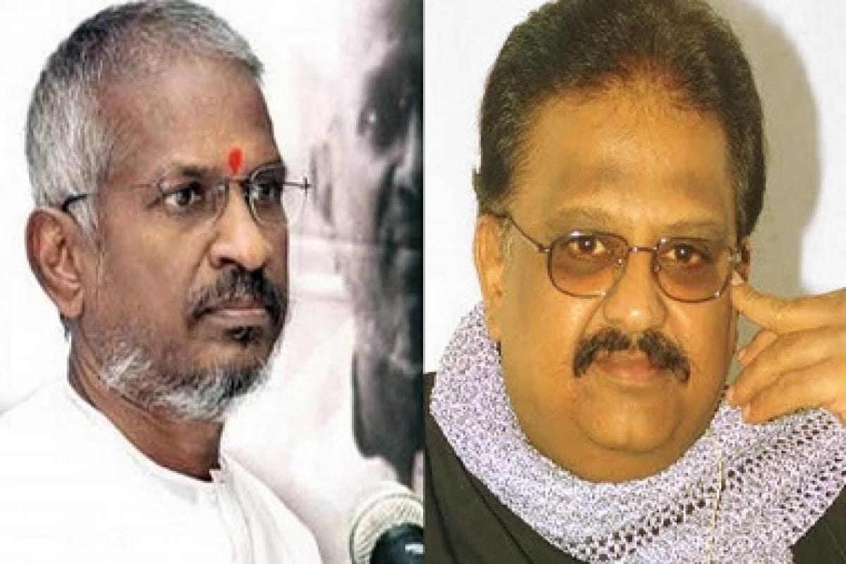 Ilayaraja presses mute on SPB singing his songs, raises
