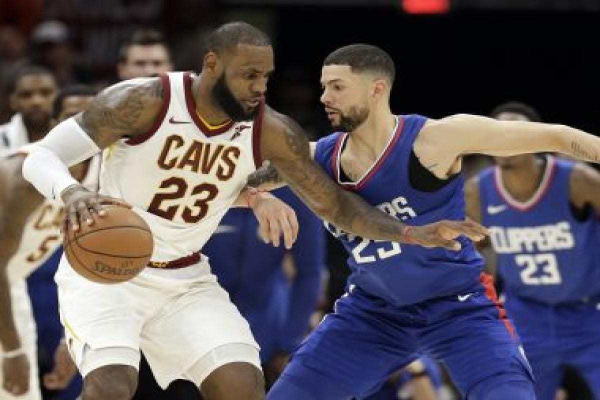 new style cc5df 49529 NBA: LeBron James shines in Cavaliers win over Clippers ...