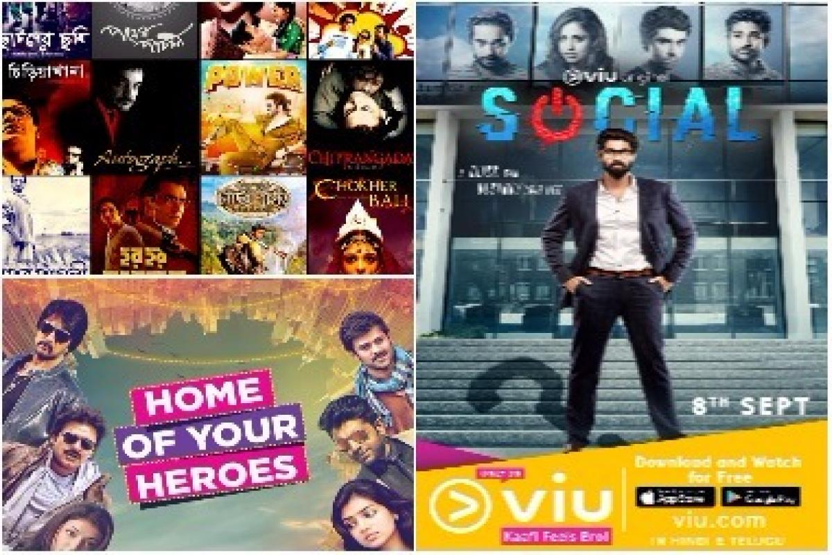 From VOOT to Viu, Sun NXT to Hoichoi, OTT platforms are