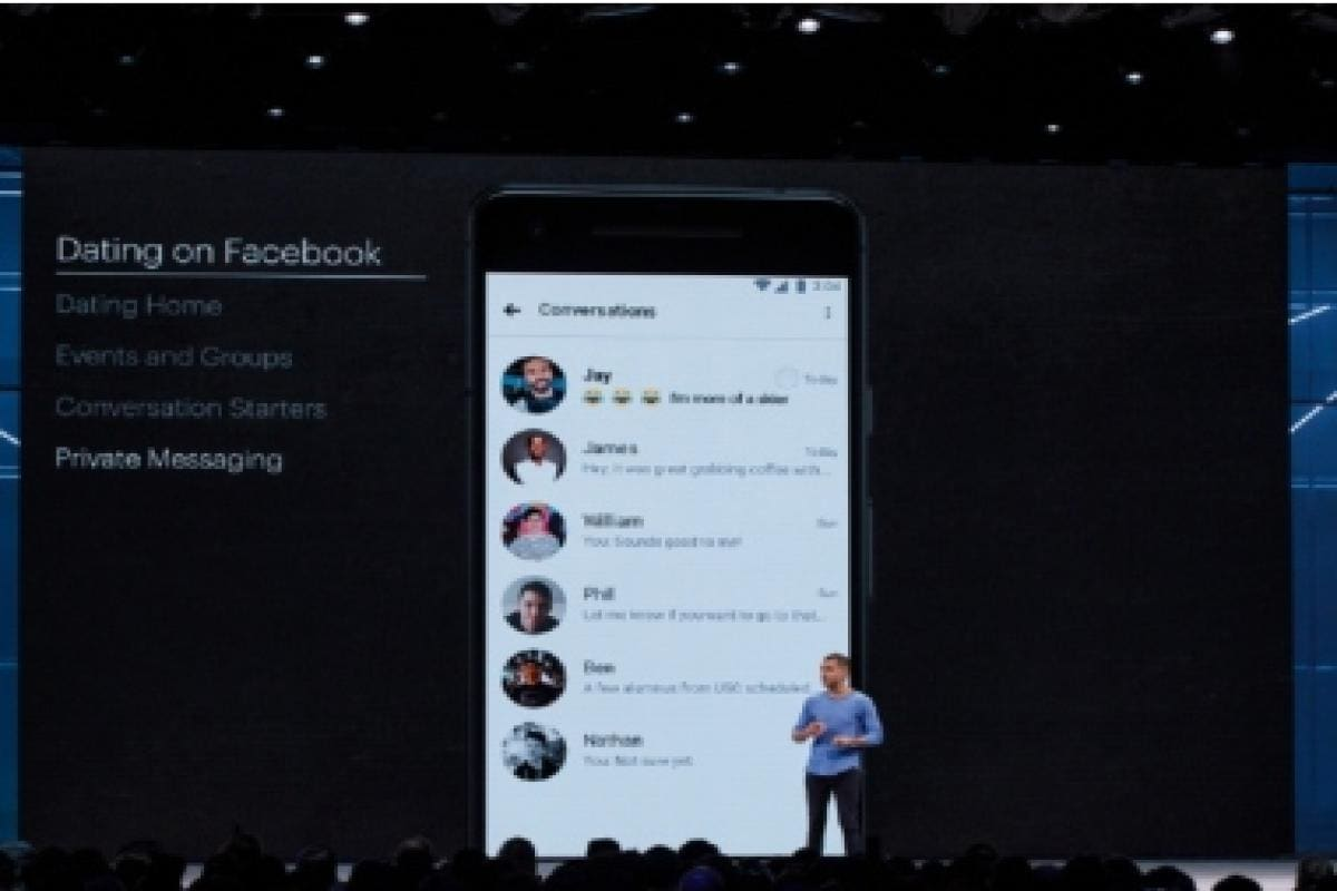 Facebook's dating service will match people with shared