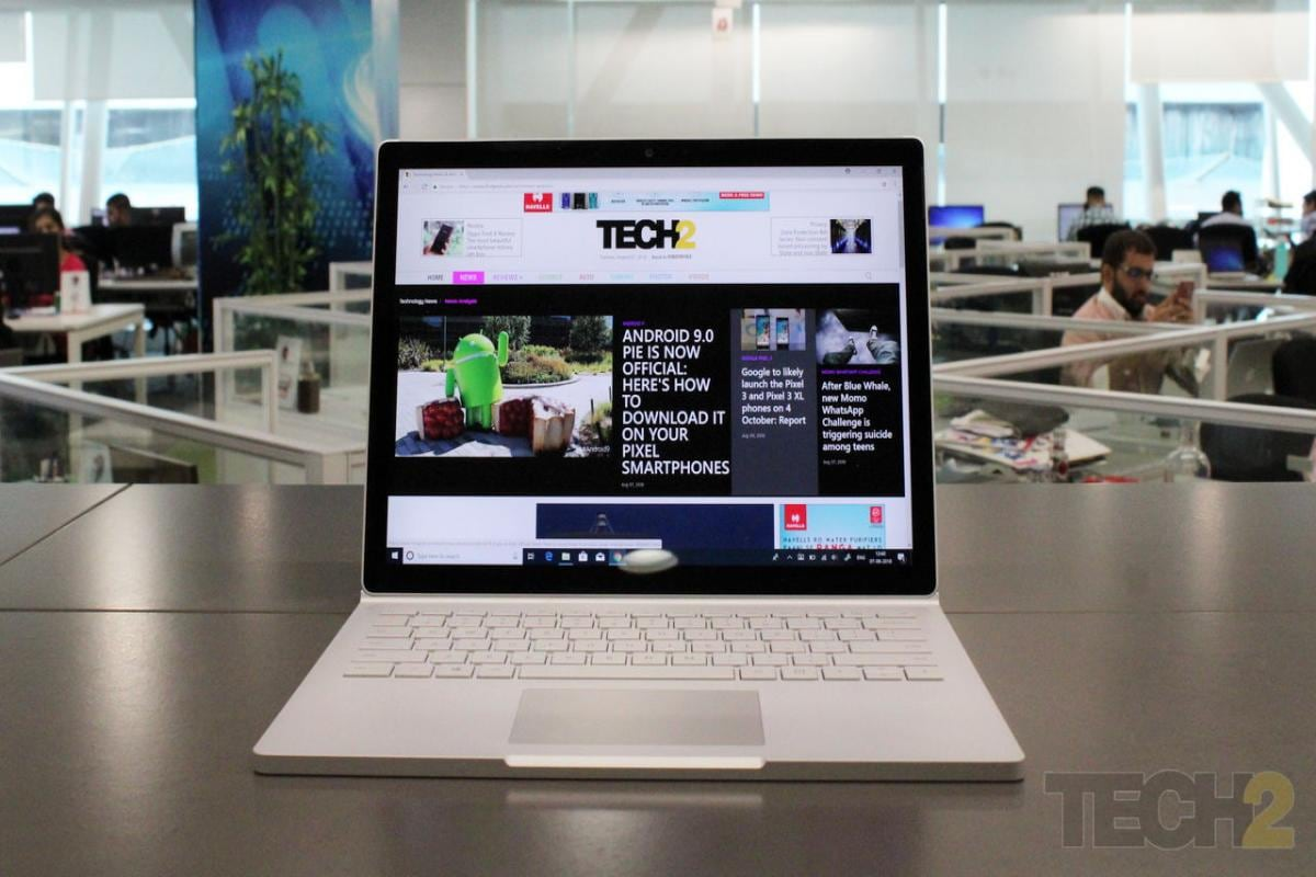 Microsoft Surface Book 2 review: The ugly duckling that