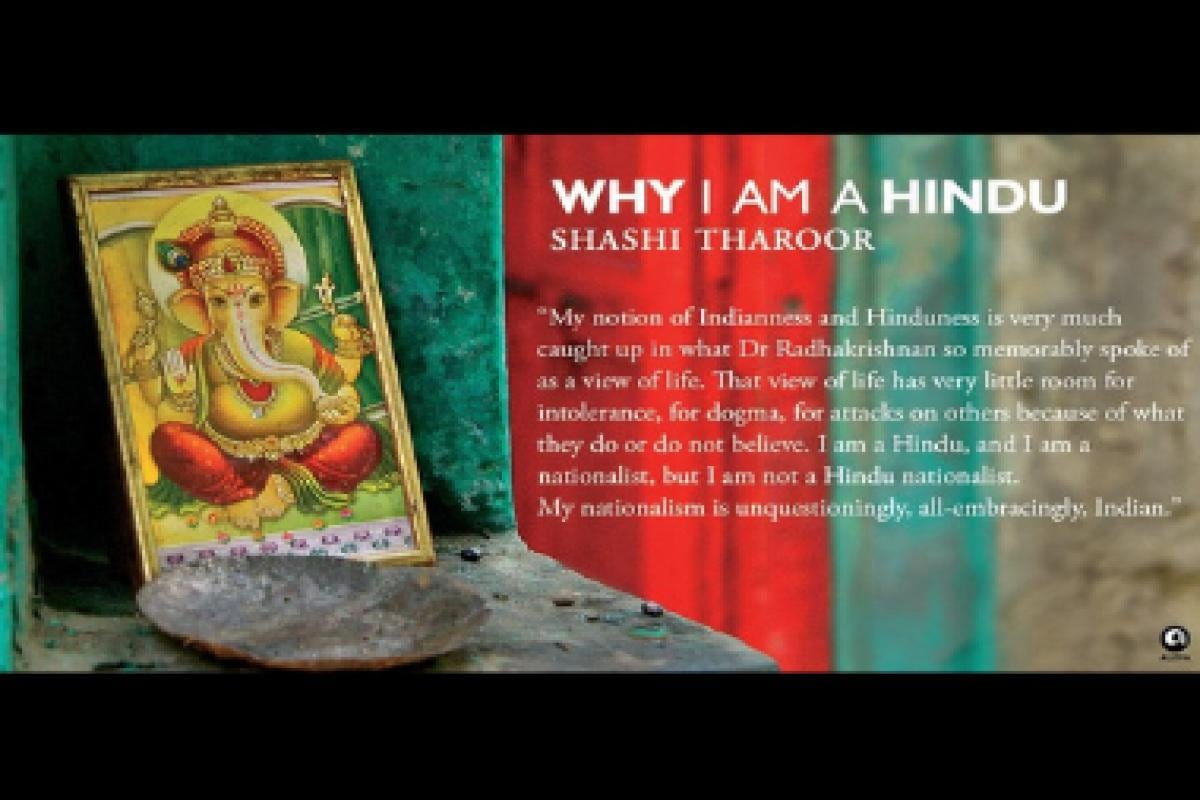 Shashi Tharoor's book Why I Am A Hindu to be made into web