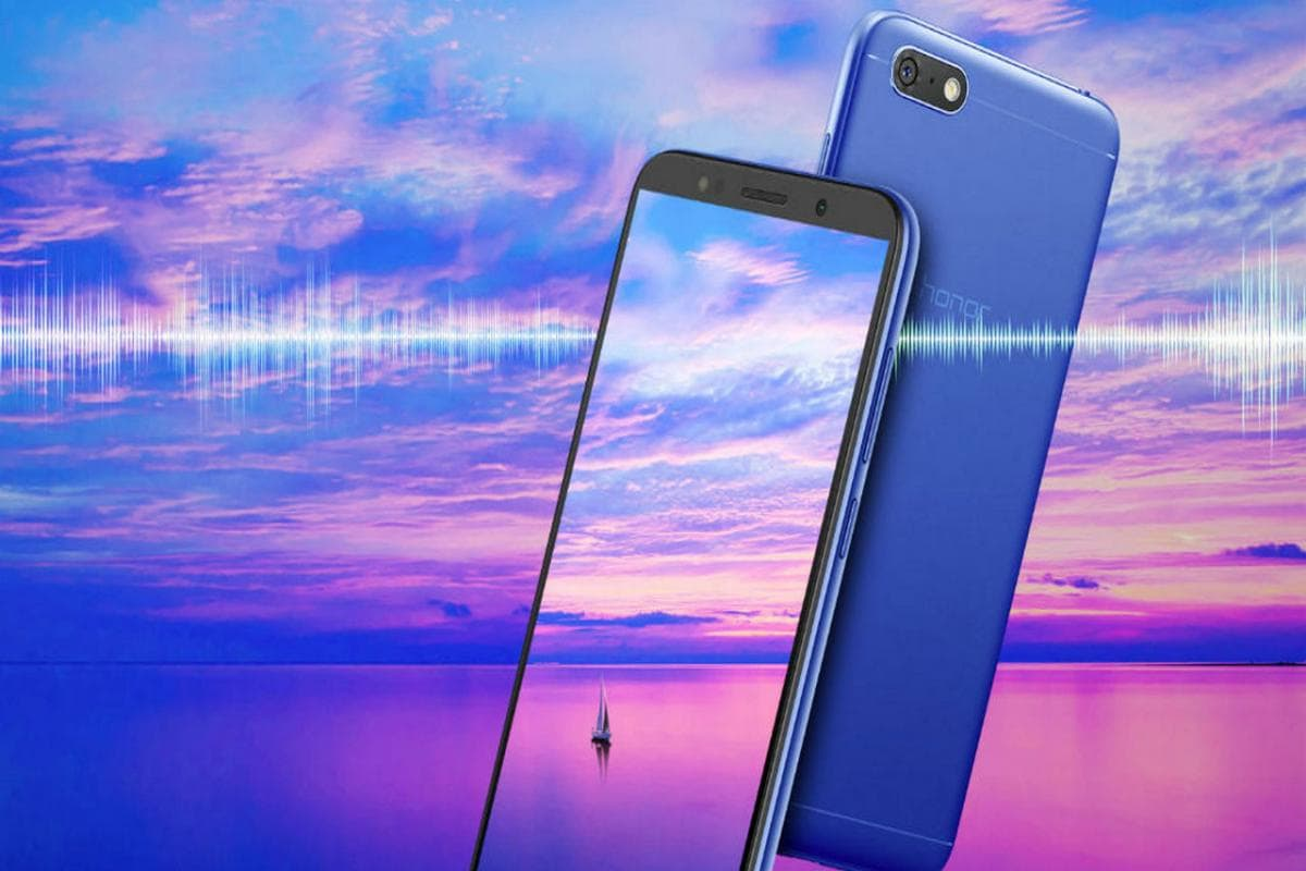 Honor 7S with a 18:9 display launched in India for a price of Rs
