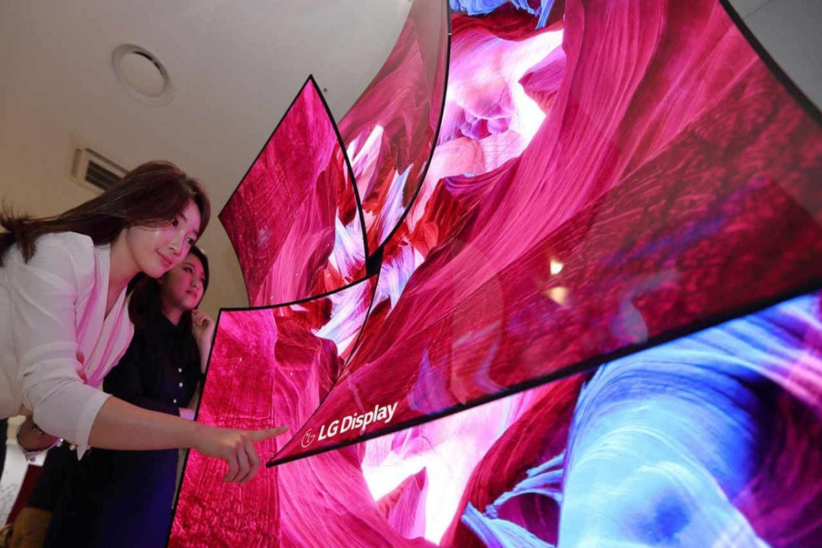 LG showcases new 88-inch 8K OLED television which doubles as a speaker at CES 2019- Technology News, Firstpost