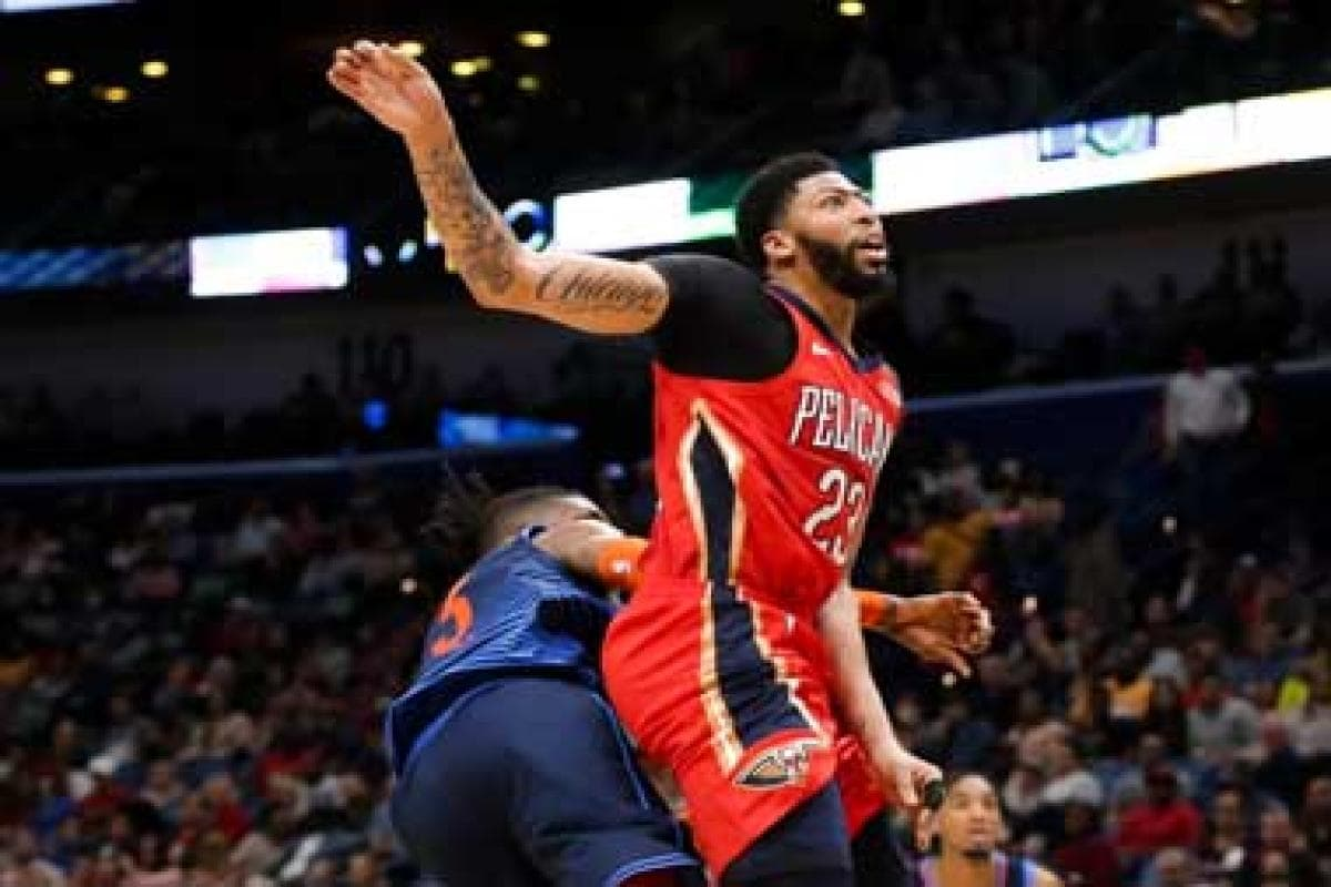 Nba All Star 2019 Anthony Davis Participation In Doubt