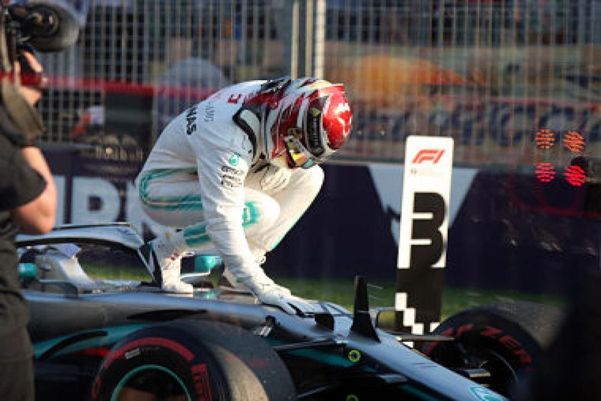 Formula 1 2019: Lewis Hamilton snatches pole position for