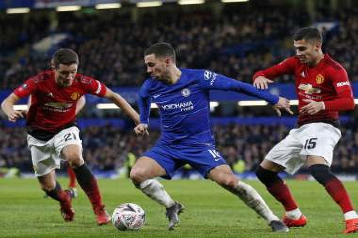 Premier League's fallen giants Manchester United and Chelsea battle