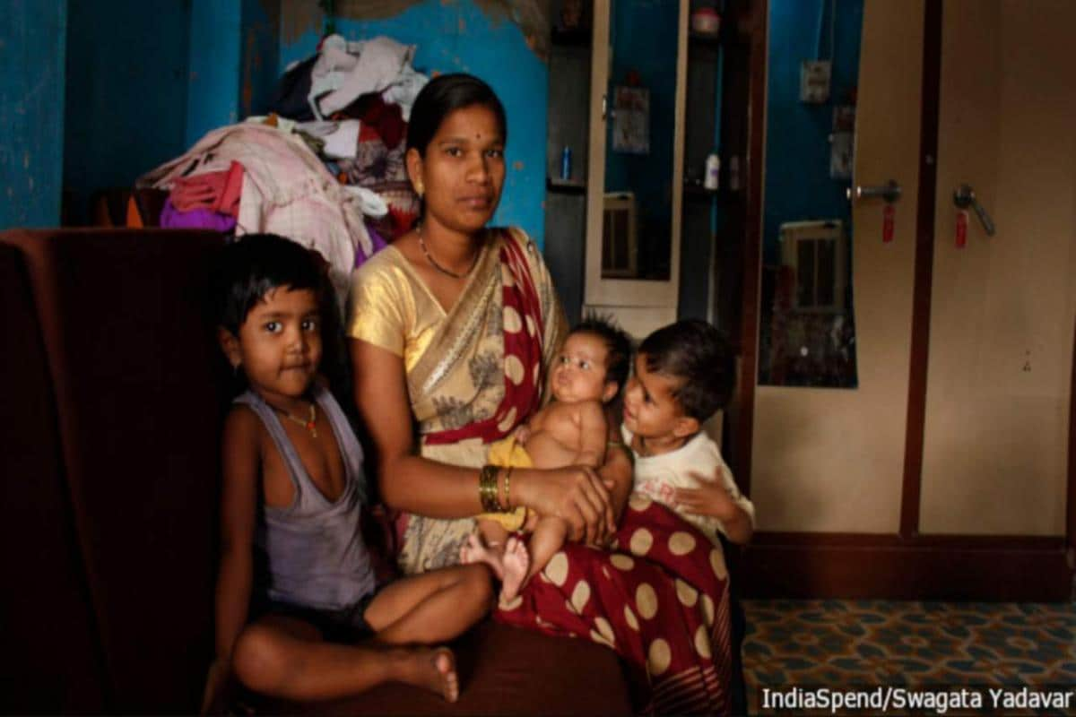 Babies in Shrirampur are escaping malnutrition because of