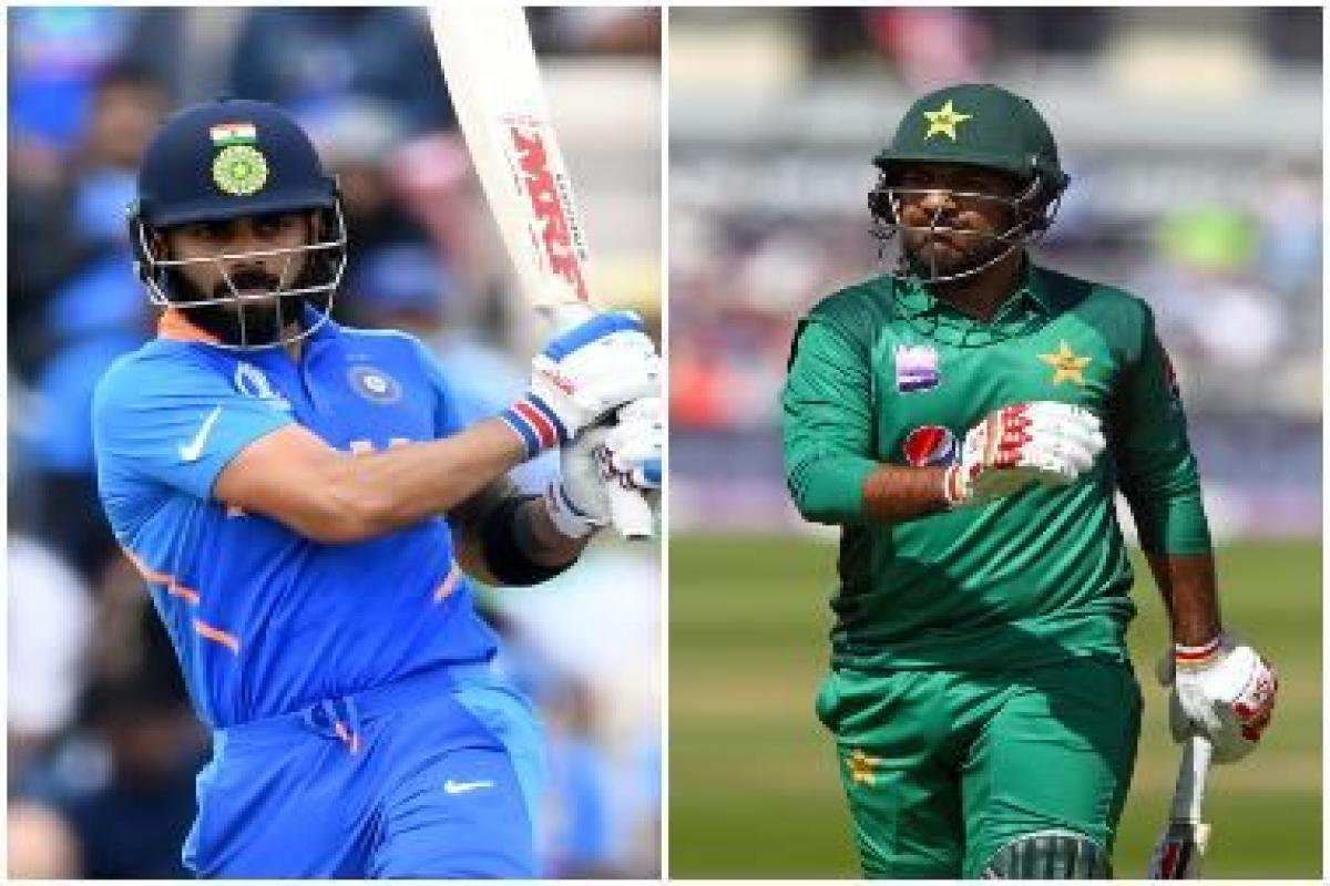Highlights India Vs Pakistan Icc World Cup 2019 Match At