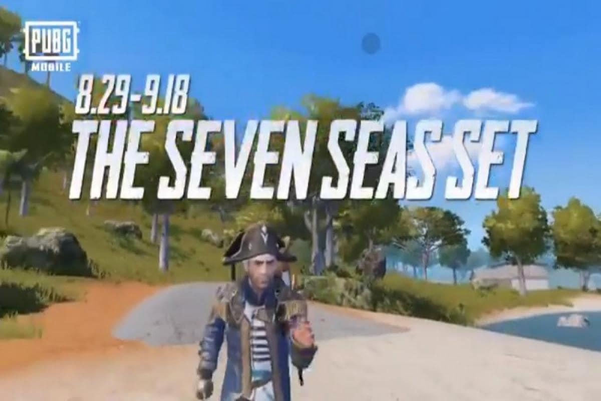 PUBG Mobile unveils limited time Seven Seas Set that lets