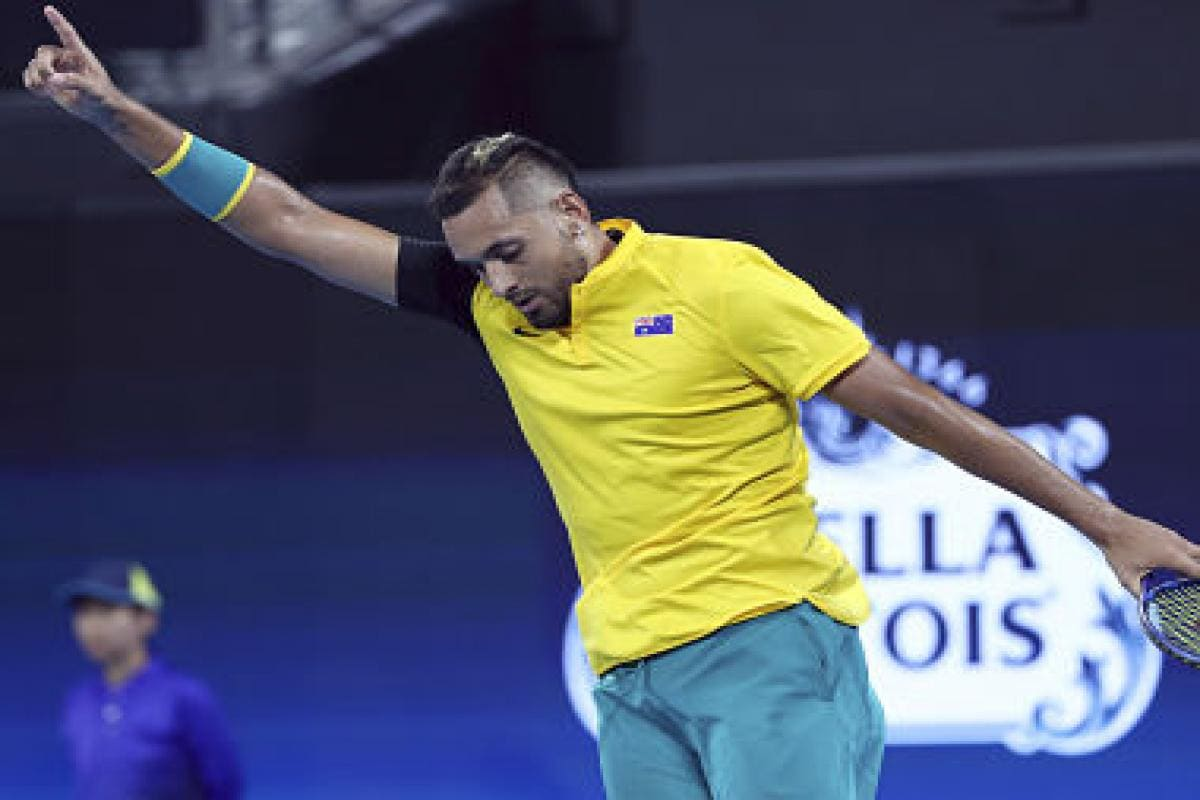 Image result for kyrgios 2020 atp cup