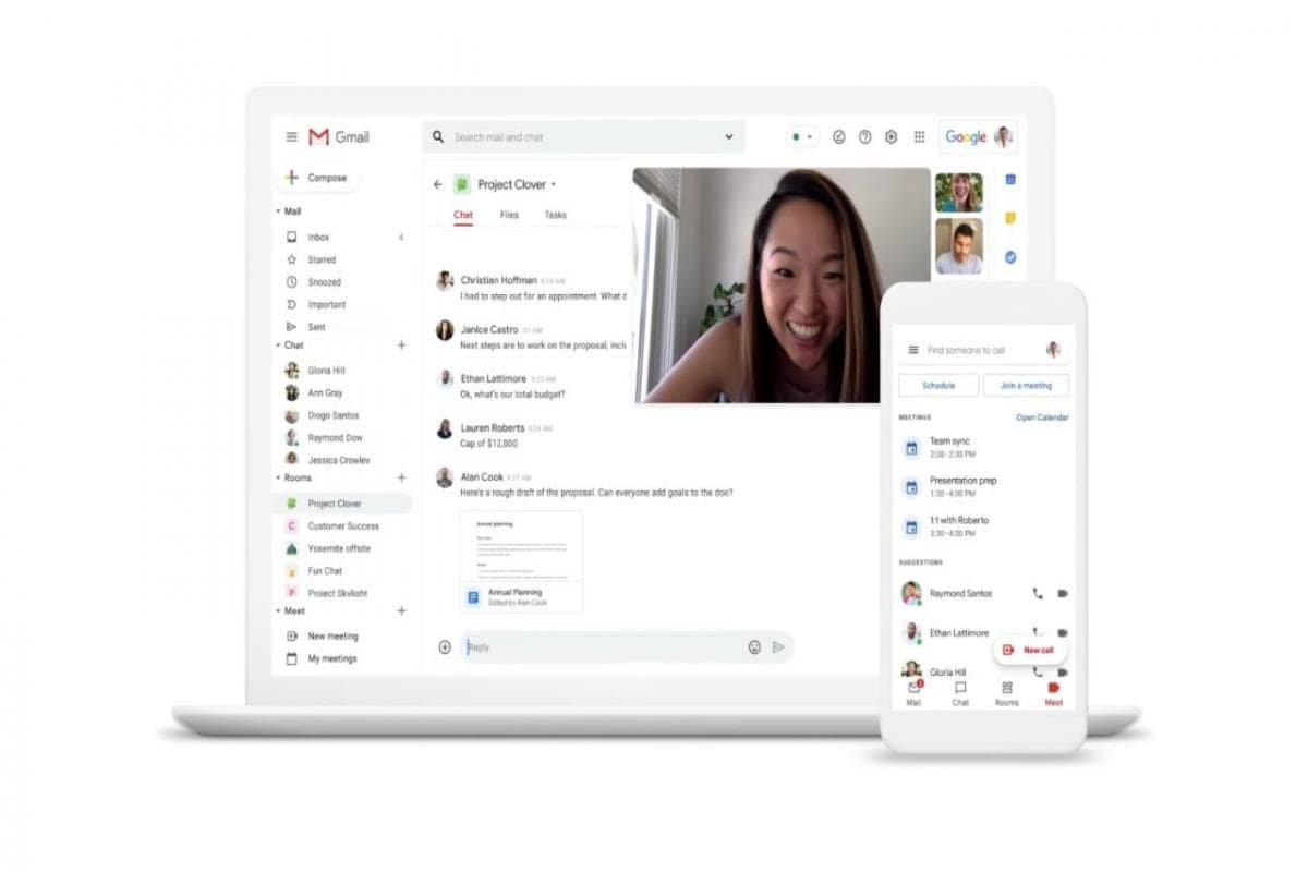 Google to unify Gmail, Chat, Rooms, Meet features to make 'home for work'  in G Suite- Technology News, Firstpost