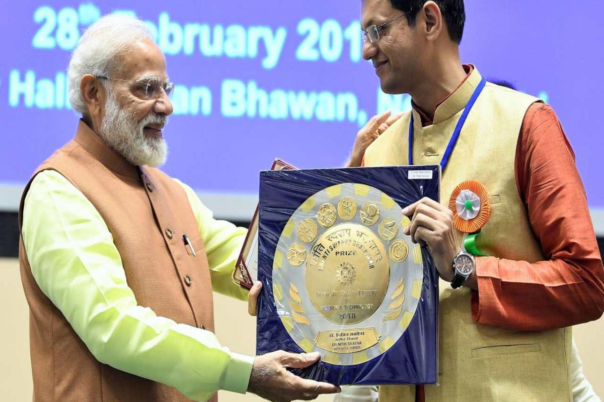 A Bengaluru Scientist Won Shanti Swarup Bhatnagar Prize