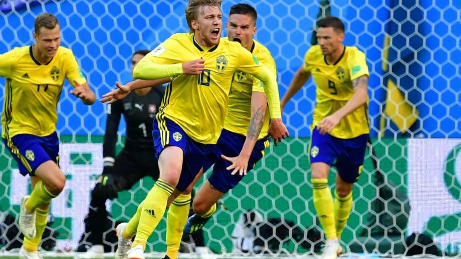 Sweden beat Switzerland, England edge past Colombia in dramatic penalty shootout to enter quarter-finals