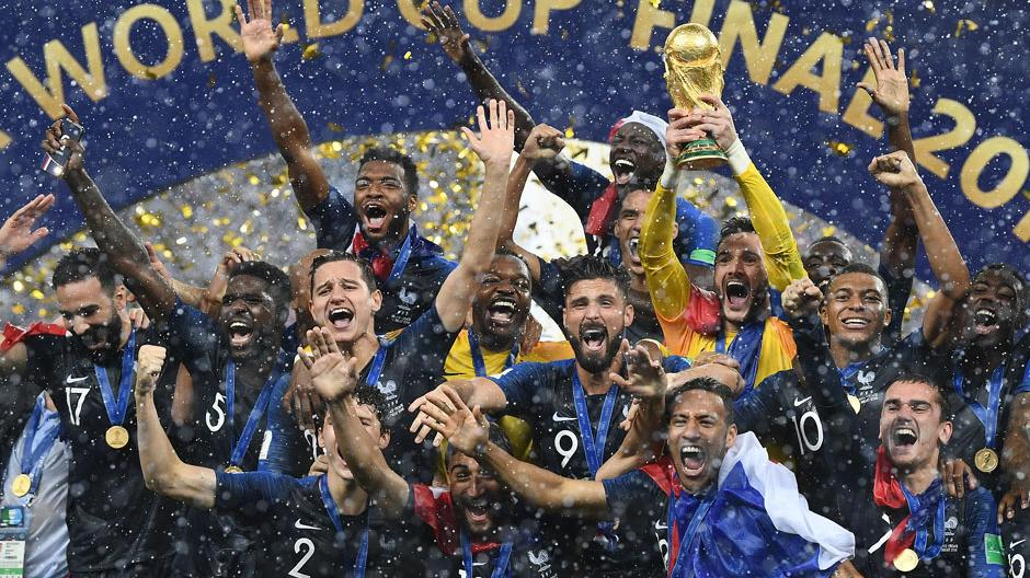 France beat Croatia in FIFA World Cup final; Didier Deschamps becomes third man to win as coach and player