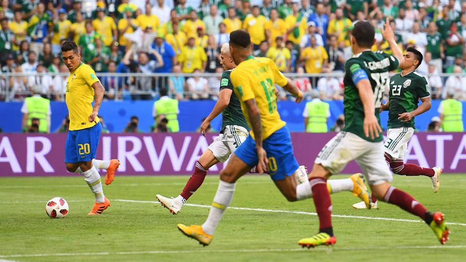 Neymar scores as Brazil cruise to victory over Mexico, Belgium overcome two goal deficit to win against Japan
