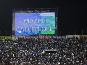 India vs Australia: Hyderabad T20I called off due to wet outfield; teams share series 1-1
