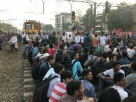 Mumbai rail roko: If Modi govt still thinks unemployment is a made-up story, students' protest will serve as eye-opener