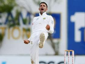 India vs South Africa: Keshav Maharaj ruled out of third Test with shoulder injury, George Linde named as replacement