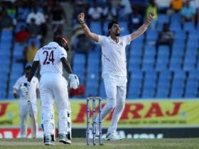 India vs West Indies: Ishant Sharma's charged-up performance in Antigua shows pacer could still make up for lost time