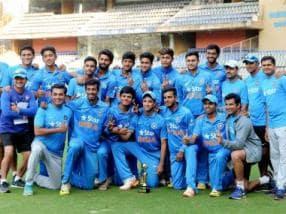 India U-19 secure thrilling tie against England U-19 in final ODI, win series 3-1
