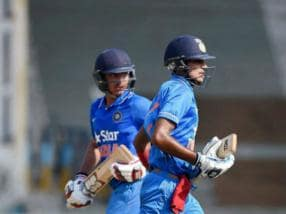 Shubman Gill's unbeaten ton helps India wallop England, grab U-19 series lead