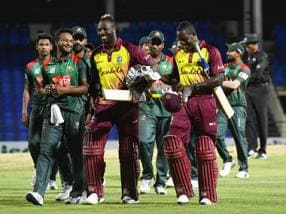 West Indies vs Bangladesh: Kesrick Williams, Andre Russell star as hosts win 1st T20I