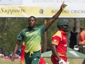 South Africa vs Zimbabwe: Proteas bowlers shine as hosts beat Hamilton Masakadza and Co by 6 wickets in 2nd T20I to clinch series