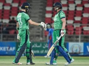 Afghanistan vs Ireland: Paul Stirling, Andy Balbirnie guide visitors to five-wicket win in 5th ODI; series ends in 2-2 deadlock