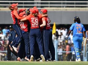 India women vs England women: Hosts lose third T20I by 1 run after failing to score three runs in last over as visitors clinch series 3-0