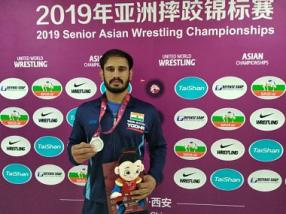 Asian Wrestling Championships: Harpreet Singh earns silver, Gyanender claims bronze as India end event with 16 medals
