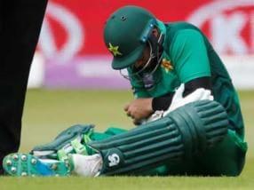 ICC Cricket World Cup 2019: Pakistan suffer injury scare as batsman Imam-ul-Haq retires hurt from fourth ODI against England