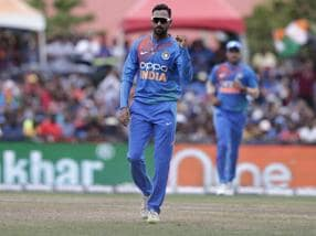 India vs West Indies: Krunal Pandya says early wickets from pacers makes job easy for spinners in middle overs