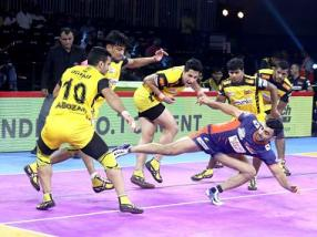 Pro Kabaddi 2019: Bengal Warriors, Telugu Titans play out exciting draw for record fifth time