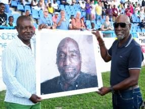 India vs West Indies: Sir Vivian Richards recovers, returns to commentary after falling ill during pre-game show