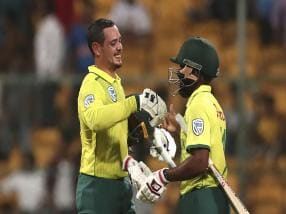 Quinton de Kock, Kagiso Rabada impress for South Africa in 3rd T20I to deny India a series win