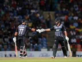 Sri Lanka vs New Zealand: Colin de Grandhomme, Tom Bruce guide visitors to series win with thrilling victory in 2nd T20I