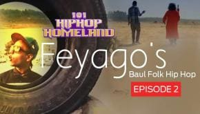 101 Hip-hop Homeland North India | Baul folk Hip-hop by Feyago ft. Tarak Das Baul