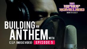 101 Hip-hop Homeland North East | Building an anthem with Cryptographik Street Poets