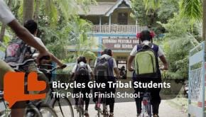 Sangeeta Darvekar Charitable Trust: Helping tribal students cycle towards a brighter future