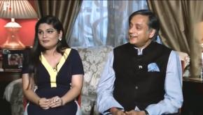 Shashi Tharoor, Srishti Dixit engage in a battle of words, discuss millennial slang