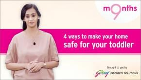 9 Months | Season 3 | Peace of Mind Listicle: Four ways to make your home safe for your toddler