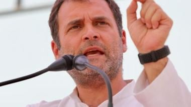 'When youth ask for jobs, govt tells them to watch moon' Rahul Gandhi hits out Narendra Modi at rally in Maharashtra's Ausa