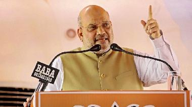 'Man with 56-inch chest scrapped Article 370 at one go': Amit Shah lauds Narendra Modi during rally in Maharashtra's Kolhapur