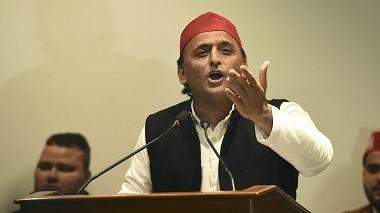 Akhilesh Yadav targets UP govt over ban on mobile phones in COVID-19 isolation wards, says decision taken to hide mismanagement at hospitals
