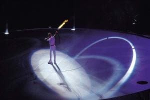 Images: Keepers of the Olympic flames