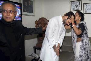 Images: Pranab, Rahul and the fake Manmohan