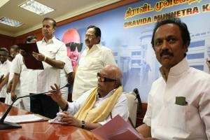 Images: How Karunanidhi called the shots today